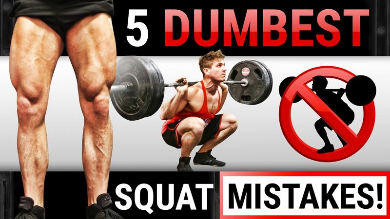 squat erreurs