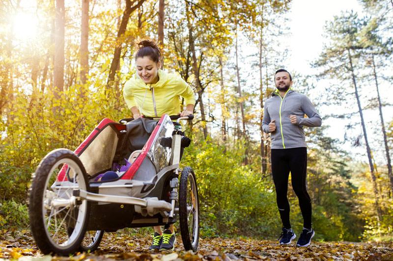 poussette jogging