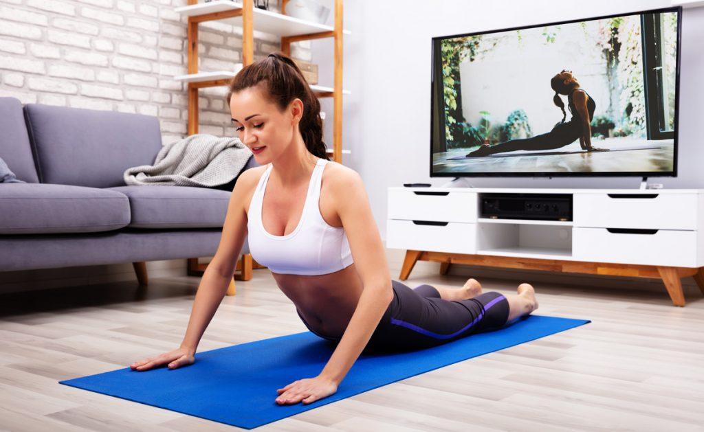 séance yoga maison
