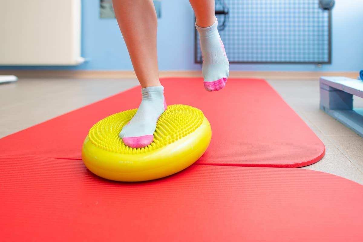 exercice de proprioception