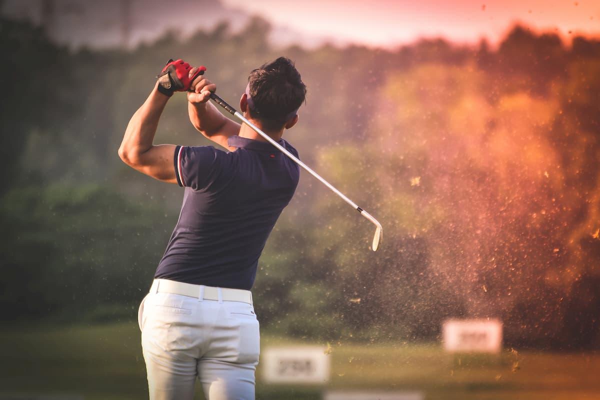posture de golf
